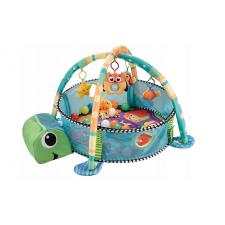 Veľká hracia podložka pre deti: Korytnačka, modrá