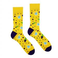 Veselé ponožky Borovička - 35-38