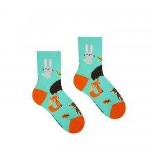 Veselé ponožky Zvieratká - Detské - 25-29