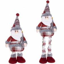 Vianočná ozdoba Mikuláš na teleskopických nožičkách 57-80cm