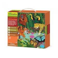 3D Puzzle – Džungľa
