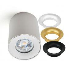 Stropné svietidlo SPOT TUBA pre LED GU10 TRIO biele KOBI