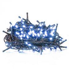 Vianočná LED svetelná reťaz vnútorná - 100LED - 4,95M Modrá