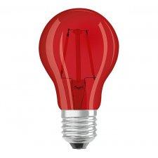 Dekoračná LED žiarovka E27 OSRAM, Červená, 2w