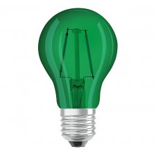 Dekoračná LED žiarovka E27 OSRAM, Zelená, 2w
