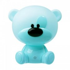 Detská nočná lampa LED MACKO Polux, 2,5W - modrá