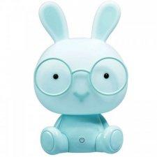 Detská nočná lampa LED ZAJAČIK Polux, 2,5W - modrá