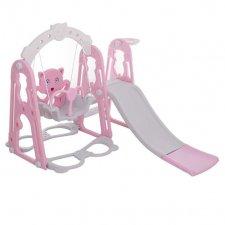 Detské ihrisko 3v1, ružová