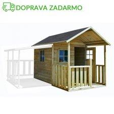 Drevený záhradný domček pre deti BLANKA