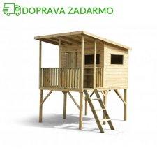 Drevený záhradný domček pre deti ROBIN