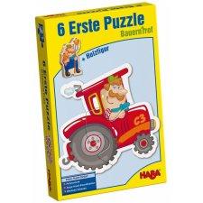 Prvé puzzle Farma 6x