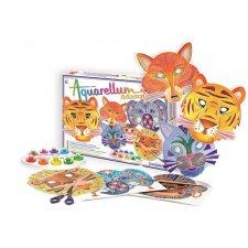 Aquarellum Masky zvieratá