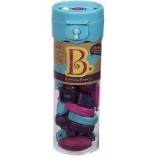 MINI Beauty Pops korálky bledomodré
