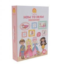 Set Ako kresliť? pre dievčatá