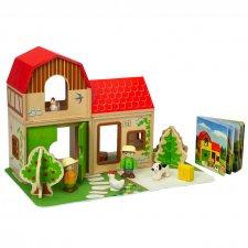 Farmársky domček set