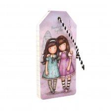 Gorjuss zápisník a la menovka na batožinu Friends Walk Together