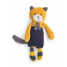 Mačka žltá Lulu 18cm