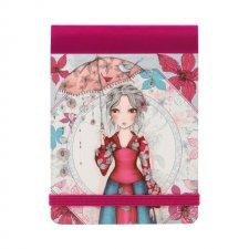 Mirabelle vreckový zápisník Parasol