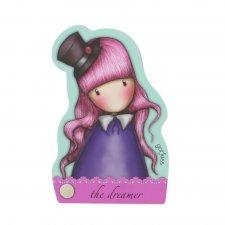 Gorjuss Fiesta zápisník v tvare postavy The Dreamer