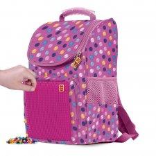 Školská taška bubblegum ružová 21 l