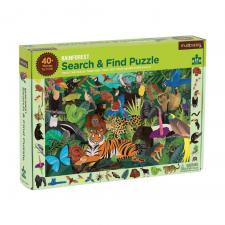 Hľadaj a nájdi puzzle Dažďový prales 64ks