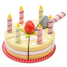 Narodeninová torta vanilková