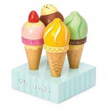 Drevené zmrzliny set 4ks