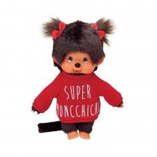 Mončiči dievča v červenej mikine 20cm