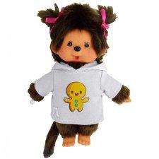 Mončiči dievča v mikine s perníkom 20cm