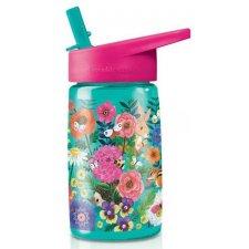 Zdravá fľaša Záhrada so slamkou