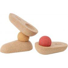 Korková balančná hra Pebbles