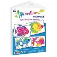 Aquarellum obrázky Rybky