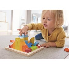 Puzzle farebné 3D