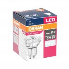 LED žiarovka GU10 OSRAM, 6,9W - Neutrálna biela