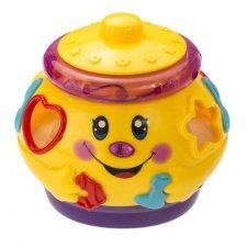 Kúzelný hrací hrniec - žltý