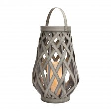 Lampáš s LED sviečkou 30 x 45 cm