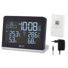 LCD domáca bezdrôtová meteostanica E8468