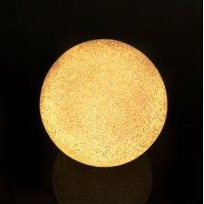 LED krištáľová snehová guľa - 12 cm