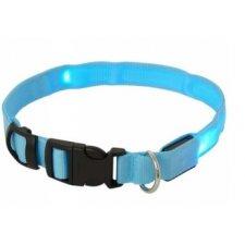 LED obojok: XL Max 68cm – modrý