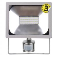 LED reflektor 20W PIR PROFI neutrálna biela