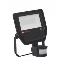LED reflektor FLOODLIGHT LEDVANCE so senzorom, 20W - čierny -  Neutrálna biela