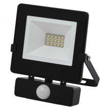 LED reflektor HOBBY SLIM s pohyb.čidlom 10W neutrálna biela
