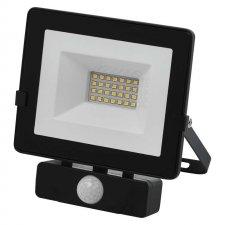 LED reflektor HOBBY SLIM s pohyb.čidlom 20W neutralna biela