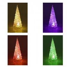 LED svetelná ozdoba vnútorná - na batérie - Stromček- 26CM - Multicolour