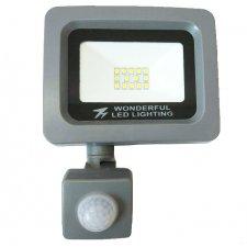LED refletkor Floodlight so senzorom pohybu WONDERFUL, 10W - Neutrálna biela
