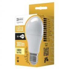 LED žiarovka Basic A55 5W E27 teplá biela