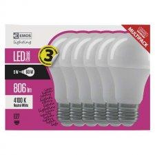 LED žiarovka Classic A60 9W E27 neutrálna biela