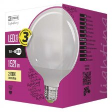 LED žiarovka Classic globe 18W E27 teplá biela