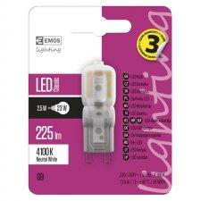 LED žiarovka Classic JC A++ 2,5W G9 neutrálna biela