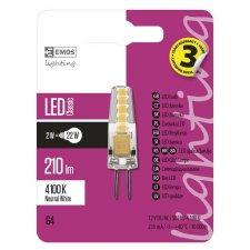 LED žiarovka Classic JC A++ 2W G4 neutrálna biela